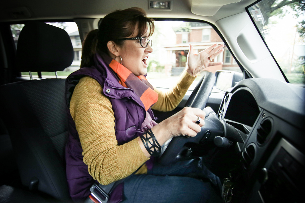 Aggressive Femal Driver / Bild: State Farm / Quelle: Flickr.com CC BY 2.0