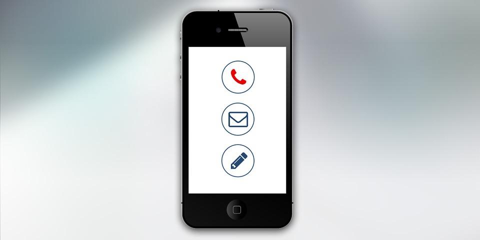 Smartphone Contact - Pixabay - CC0